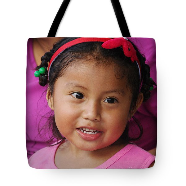 girl from Panama 2 Tote Bag by Rudi Prott