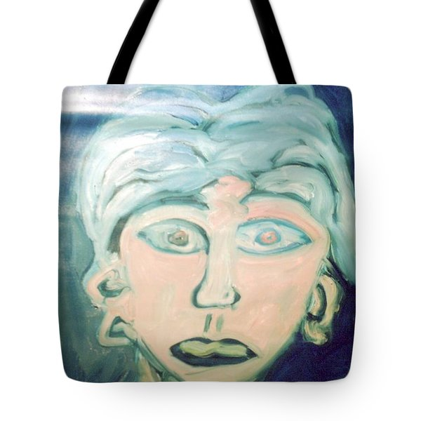 Girl With Ear Rings Tote Bag