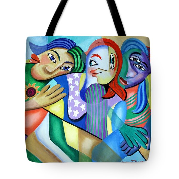 Girlfriends Tote Bag by Anthony Falbo