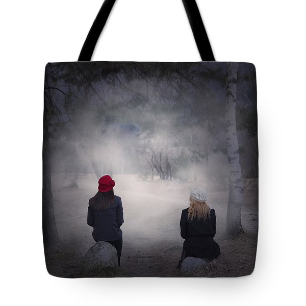 Girlfriends Tote Bag by Joana Kruse