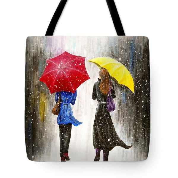 Girlfriends Tote Bag by Kume Bryant