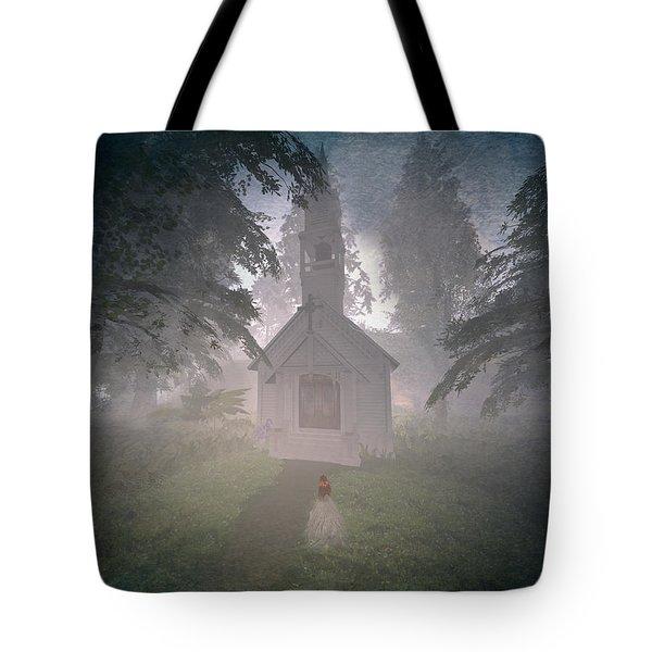 Tote Bag featuring the digital art Girls Dream by Kylie Sabra