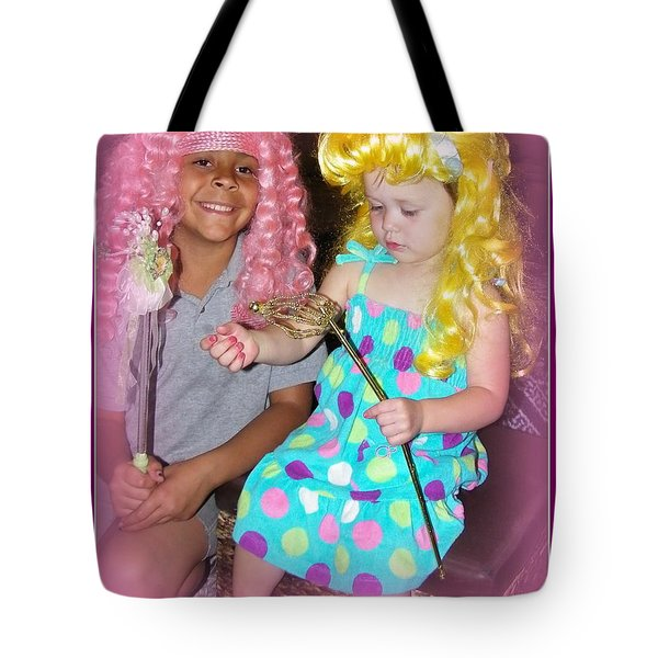 Tote Bag featuring the photograph Girls Just Wanna Have Fun by Bobbee Rickard