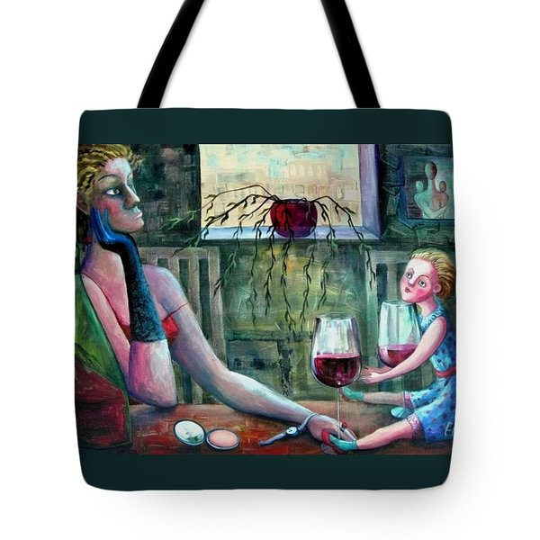 Girls Party Tote Bag by Elisheva Nesis