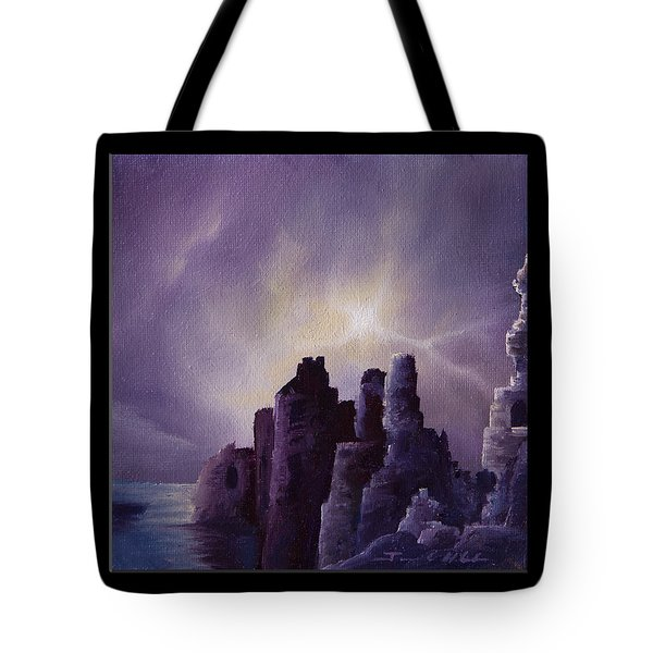 Girnigoe Castle Tote Bag
