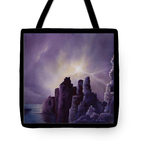 Girnigoe Castle Tote Bag by James Christopher Hill