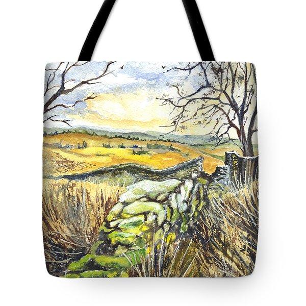Gisburn Forest Lancashire Uk Tote Bag by Carol Wisniewski