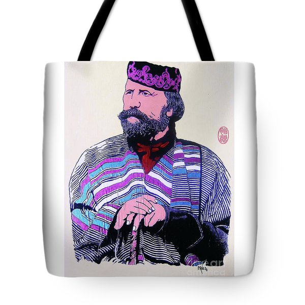 Tote Bag featuring the painting Giuseppe Garibaldi by Roberto Prusso