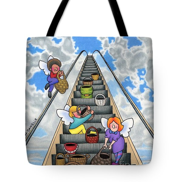 Give Your Worries To God Tote Bag by Sarah Batalka