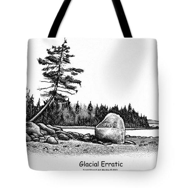 Glacial Erratic Tote Bag