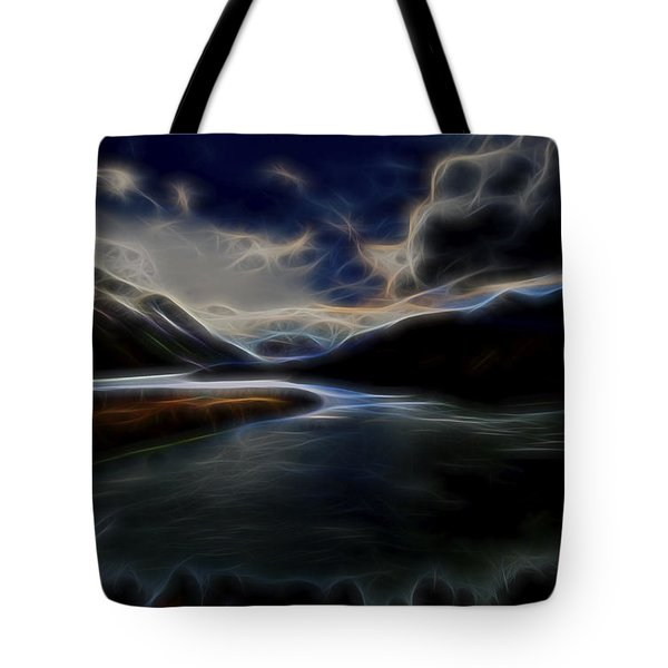 Glacial Light 1 Tote Bag by William Horden