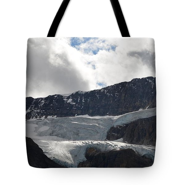 Glacial Mountain Tote Bag by Cheryl Miller