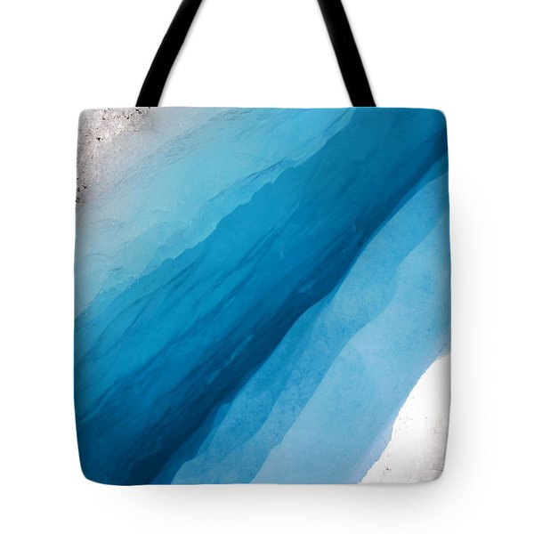 Glacial Rift Tote Bag