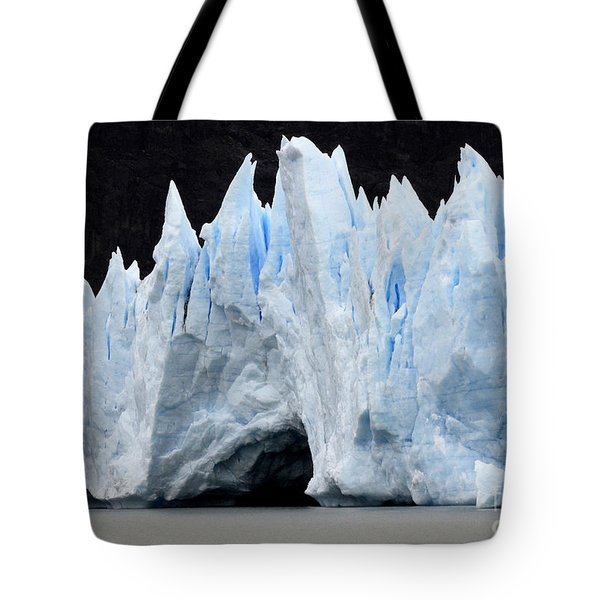 Glaciar Grey Patagonia Chile 3 Tote Bag by Bob Christopher