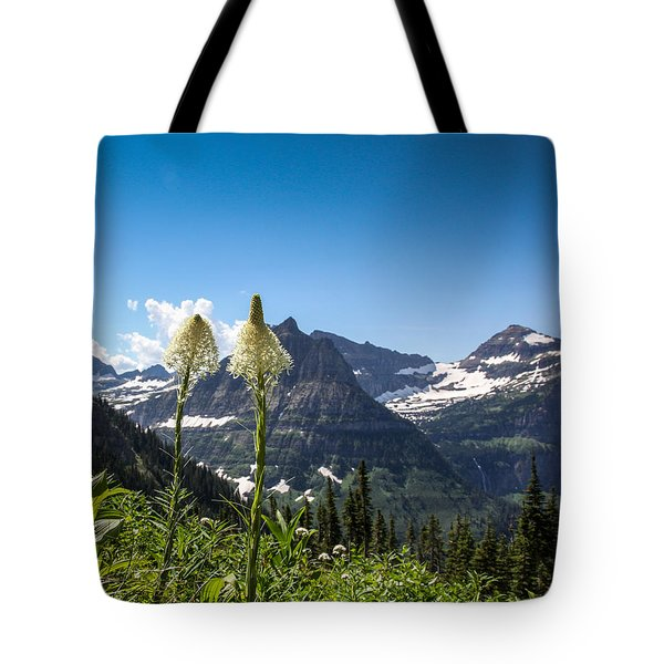 Glacier Grass Tote Bag