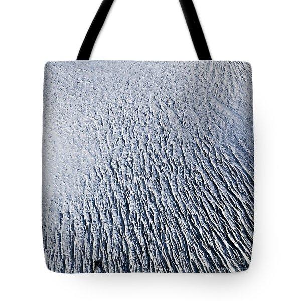 Tote Bag featuring the photograph Glacier by Gunnar Orn Arnason