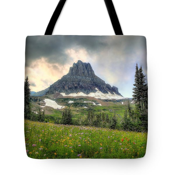 Glacier Meadows Tote Bag