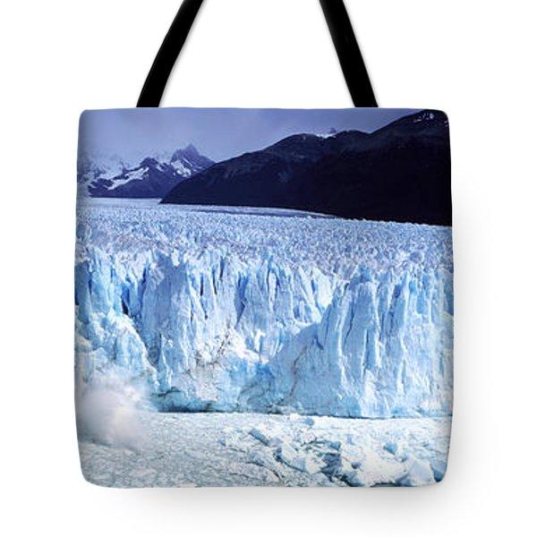 Glacier, Moreno Glacier, Argentine Tote Bag