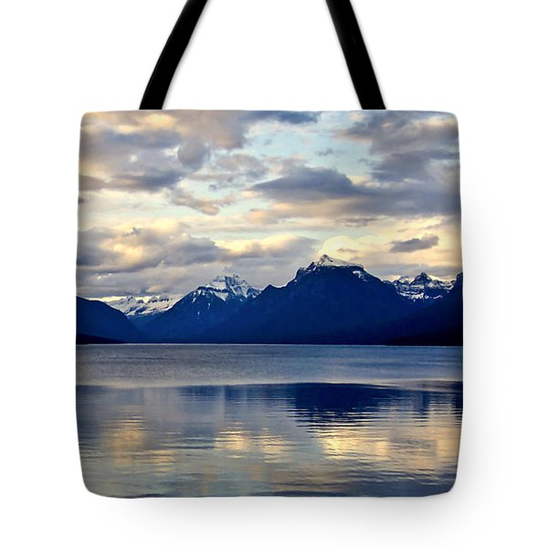 Glacier Morning Tote Bag