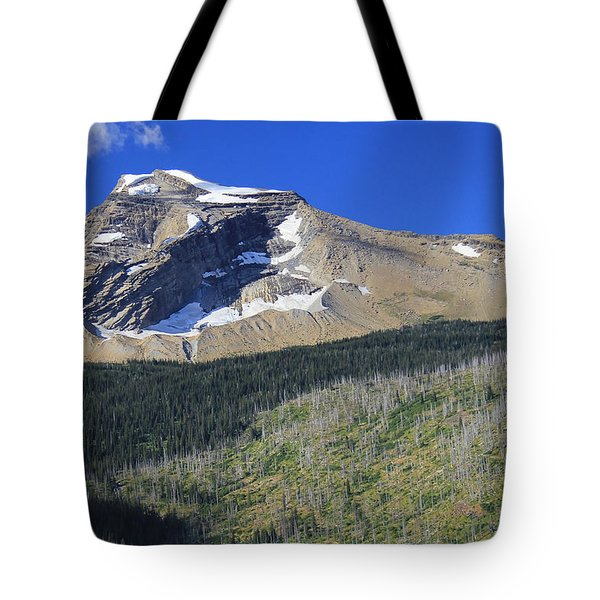 Glacier National Pk Mt Tote Bag by Kathleen Scanlan