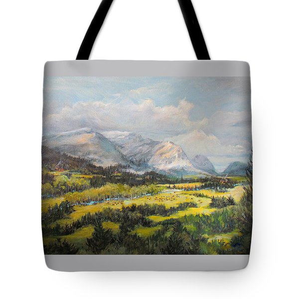 Glacier Splendor Tote Bag
