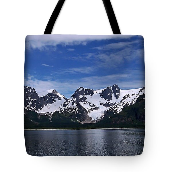 Glacier View Tote Bag