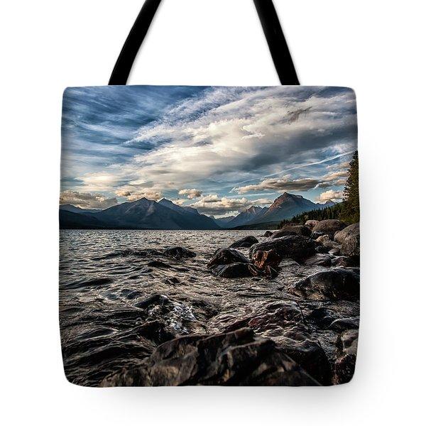 Glacier Whispers Tote Bag