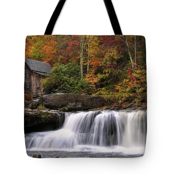 Glade Creek Grist Mill - Photo Tote Bag