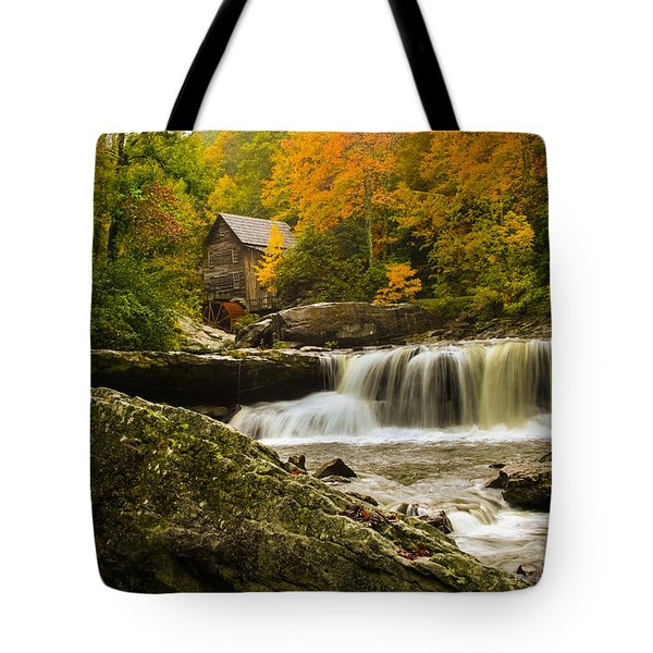 Glade Creek Grist Mill Tote Bag by Shane Holsclaw