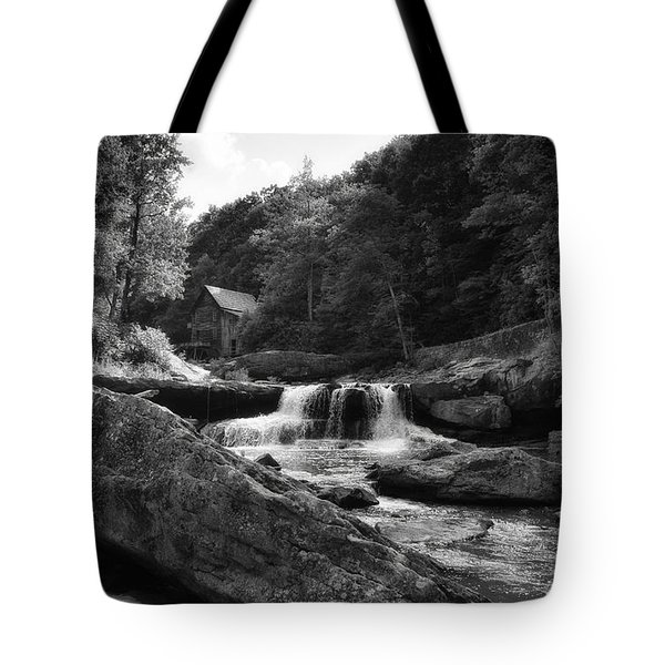 Glade Creek Waterfall Tote Bag by Shelly Gunderson