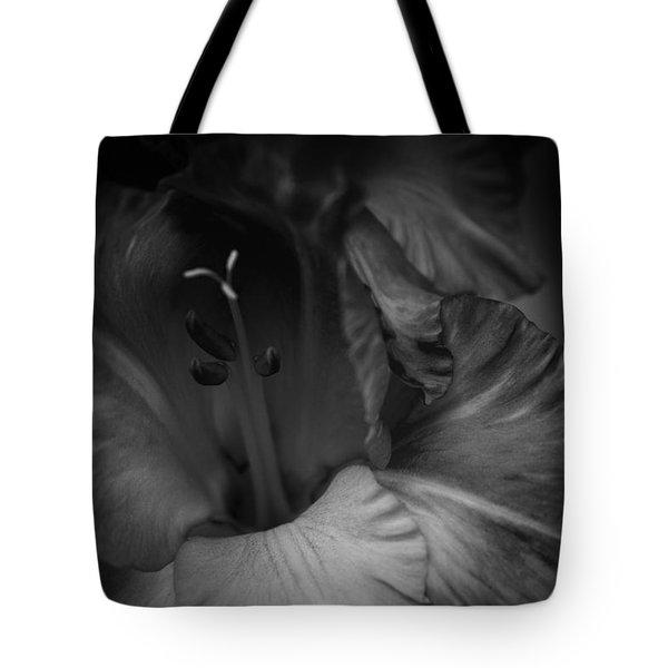 Gladiolus Morning Tote Bag