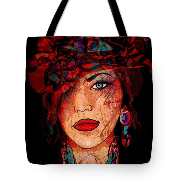 Glamor Tote Bag by Natalie Holland
