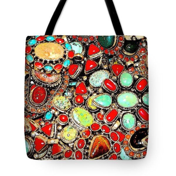 Tote Bag featuring the photograph Glamorous Glitter by Ira Shander