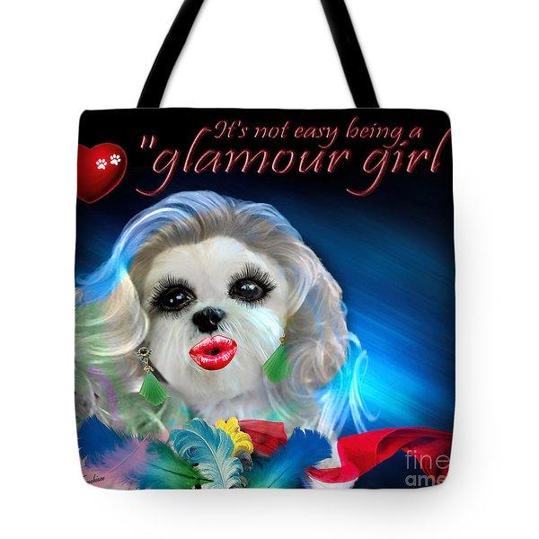 Glamour Girl-3 Tote Bag