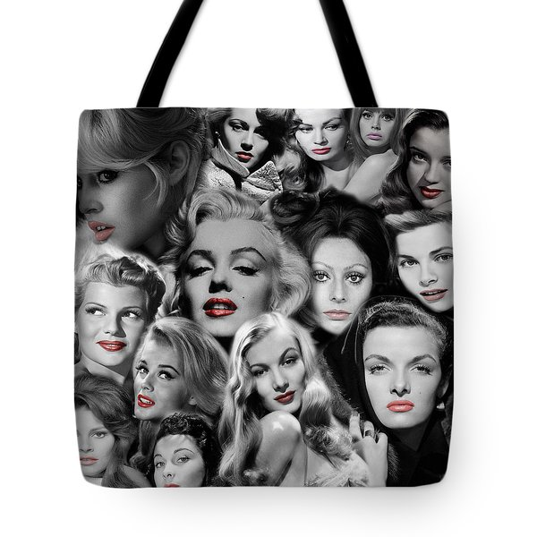 Glamour Girls 1 Tote Bag by Andrew Fare