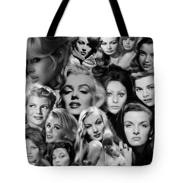 Glamour Girls 2 Tote Bag by Andrew Fare