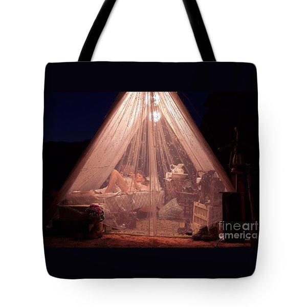 Glamping Tote Bag