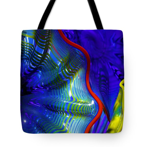Glass Abstract One Tote Bag
