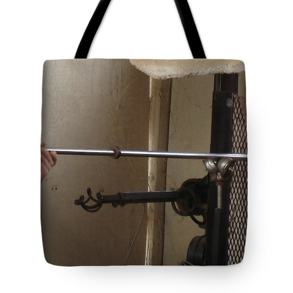 Tote Bag featuring the photograph Glass Artisan Hands by Kerri Mortenson