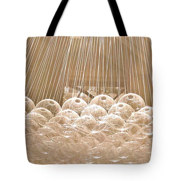 Glass Bubbles Tote Bag