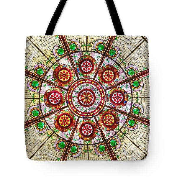Glass Dome Tote Bag
