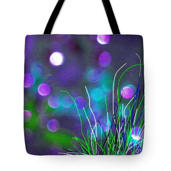 Glass Fields Tote Bag