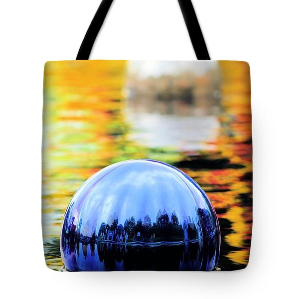 Glass Floats Tote Bag by Elizabeth Budd
