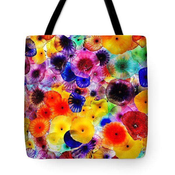 Glass Garden Tote Bag