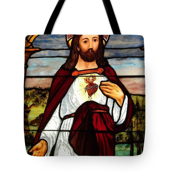 Glass God Tote Bag