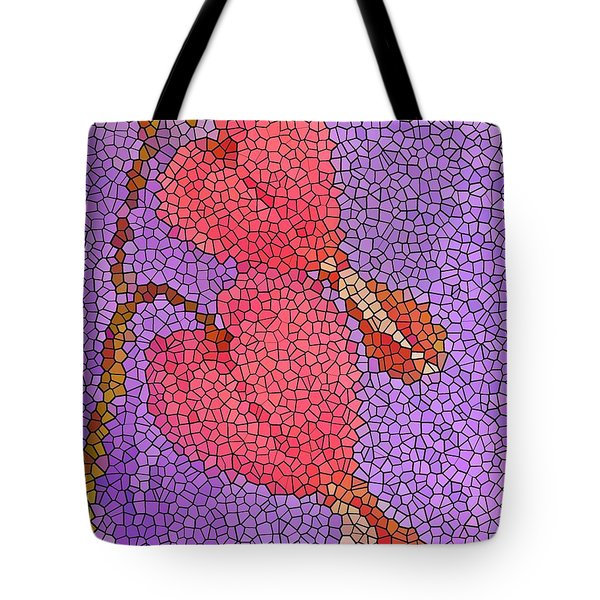 Glass Hearts Tote Bag by Chris Berry