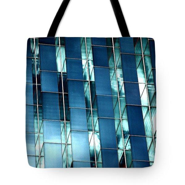 Glass House II Tote Bag by Christiane Hellner-OBrien