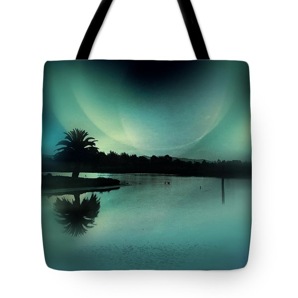 Glass Moon Tote Bag