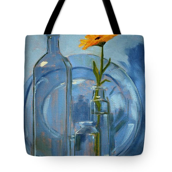 Glass Tote Bag by Nancy Merkle