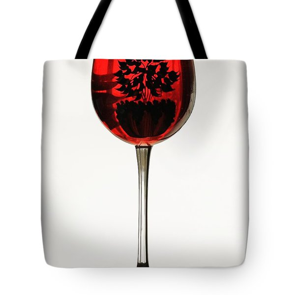 Glass Of Wine... Tote Bag